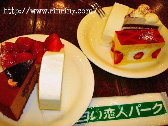 白い恋人パークのカフェ・ティータイム