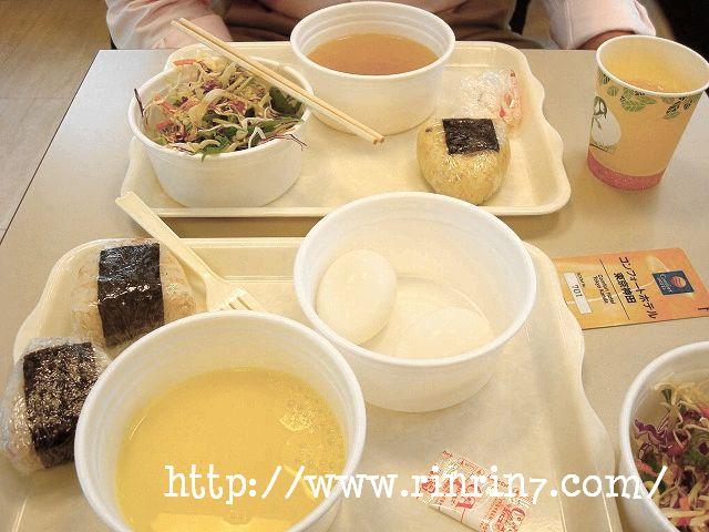 コンフォートホテル東京神田の朝食