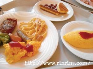 ホテルオークラ東京ベイのバイキング朝食