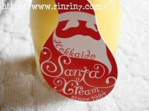 サンタクリームの金のプリン