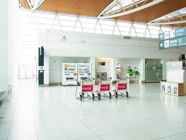 新千歳空港の電源スポット