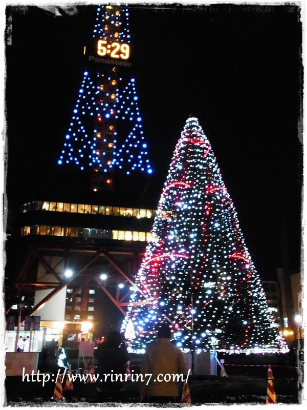 札幌(さっぽろ)ホワイトイルミネーション2014
