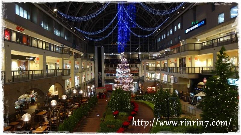 サッポロファクトリー「ジャンボクリスマスツリー」2013