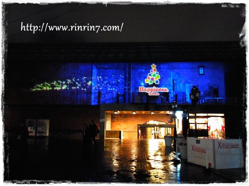 サッポロファクトリー クリスマス プロジェクションマッピング
