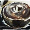 チョコレート・キャラメルシフォンケーキ