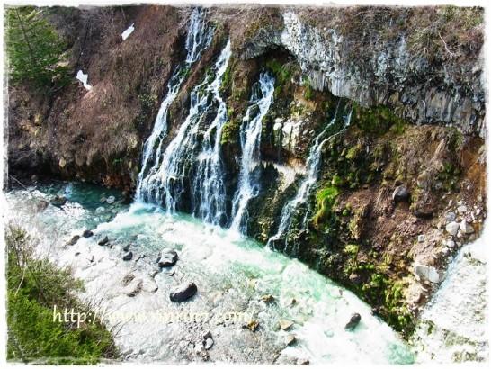 美瑛町 白ひげの滝